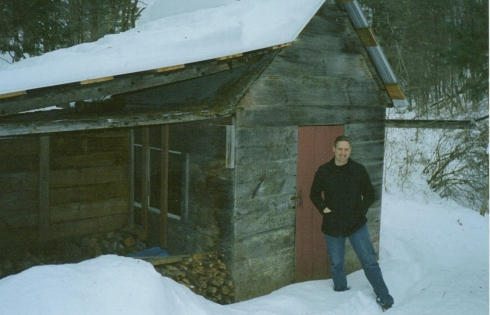The sugar house I spent many cold springs at.